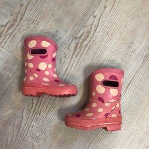 2/$15💥London Fog polka dot girls boots
